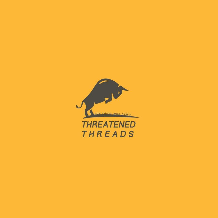 "Kilpailutyö #35 kilpailussa Design a Logo for ""Threatened Threads"""
