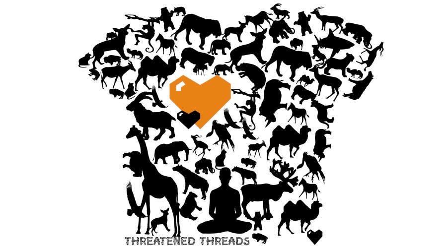 "Kilpailutyö #19 kilpailussa Design a Logo for ""Threatened Threads"""