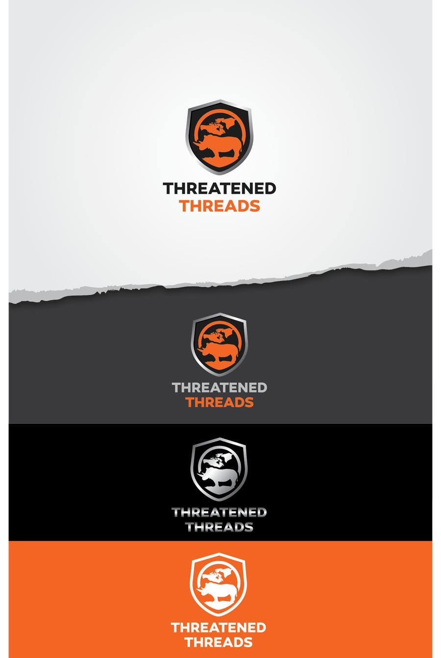 "Kilpailutyö #98 kilpailussa Design a Logo for ""Threatened Threads"""