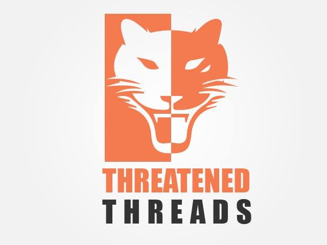 "Kilpailutyö #66 kilpailussa Design a Logo for ""Threatened Threads"""