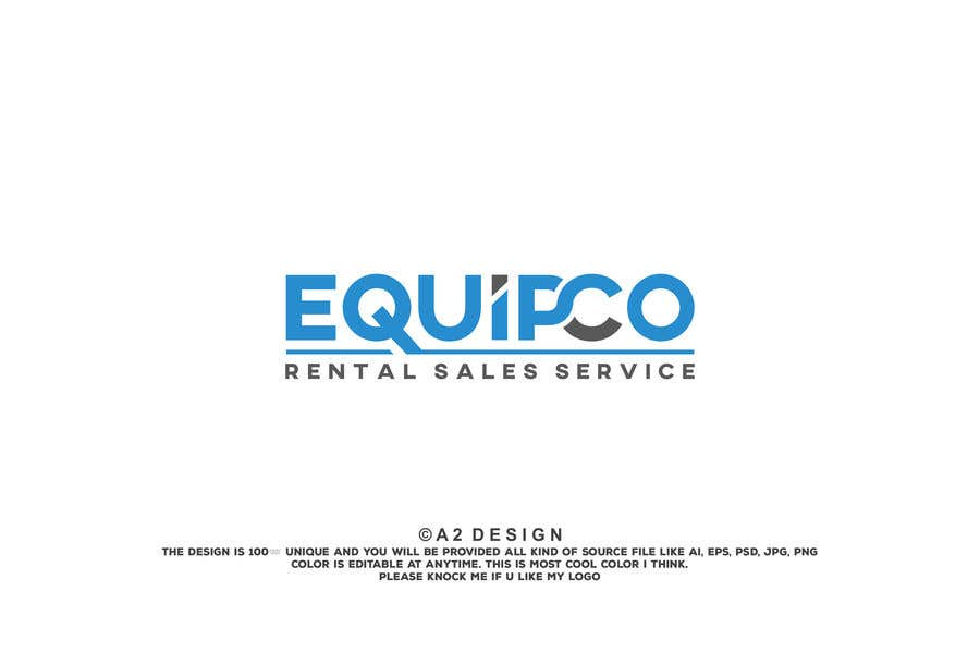 Bài tham dự cuộc thi #                                        384                                      cho                                         EQUIPCO Rentals Sales Service