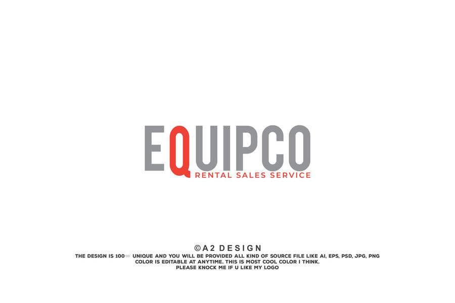 Bài tham dự cuộc thi #                                        390                                      cho                                         EQUIPCO Rentals Sales Service