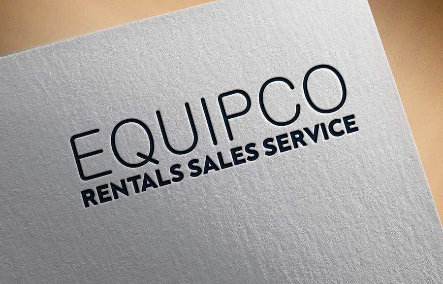 Bài tham dự cuộc thi #                                        300                                      cho                                         EQUIPCO Rentals Sales Service
