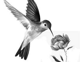 #336 for Bird design for tattoo on shoulder blade by andrewsouza