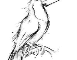 #303 for Bird design for tattoo on shoulder blade by mauroliraart