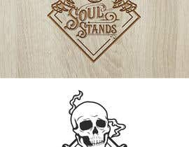 #95 for Illustration for custom wall mount guitar stand for jam band theme (like grateful dead and phish) by shuvopaul113