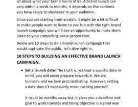 Nro 23 kilpailuun Write an article on any of the topics below käyttäjältä Olamijibanks