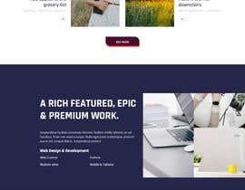 Nro 19 kilpailuun Build me a one page website wordpress theme site käyttäjältä bansalaruj77