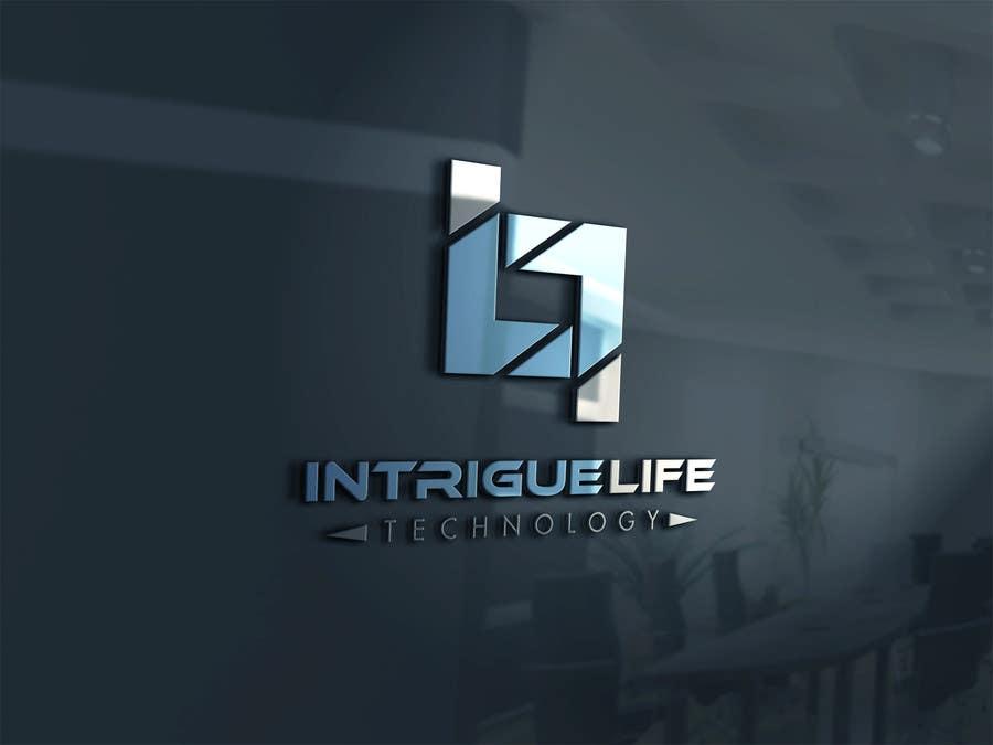 "Kilpailutyö #35 kilpailussa Design a Logo for Technology Company ""Intrigue Life"""