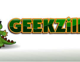 #5 para Logo Design for GeekZilla por GreenAndWhite