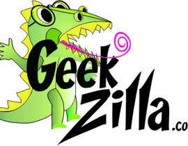 #126 para Logo Design for GeekZilla por ResourcefulWoman