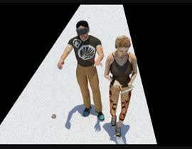 vc1xz0 tarafından Create two animated figures (a man and a woman) who take up 4 roles için no 18