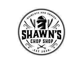 #44 cho Design logo for barber shop- Wanting a logo for a barber shop designed. The name is Shawn's Chop Shop.   Things that can be incorporated would include:  Barber pole Scissors  Straight razor  Hair Clippers •Modern or Old style designs welcome. bởi carolingaber
