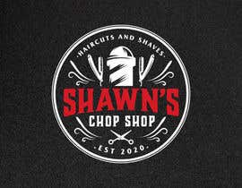 #47 cho Design logo for barber shop- Wanting a logo for a barber shop designed. The name is Shawn's Chop Shop.   Things that can be incorporated would include:  Barber pole Scissors  Straight razor  Hair Clippers •Modern or Old style designs welcome. bởi carolingaber