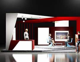 Nro 2 kilpailuun Basic 3D booth designs. käyttäjältä nguyendung100288