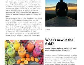 #1 untuk Mailchimp/monthly newsletter template oleh mtyson42
