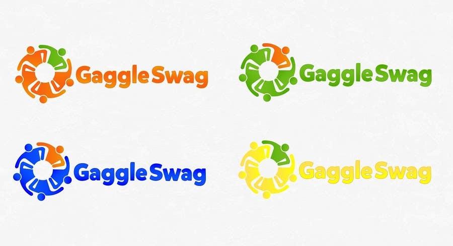 Kilpailutyö #                                        8                                      kilpailussa                                         Logo for GaggleSwag
