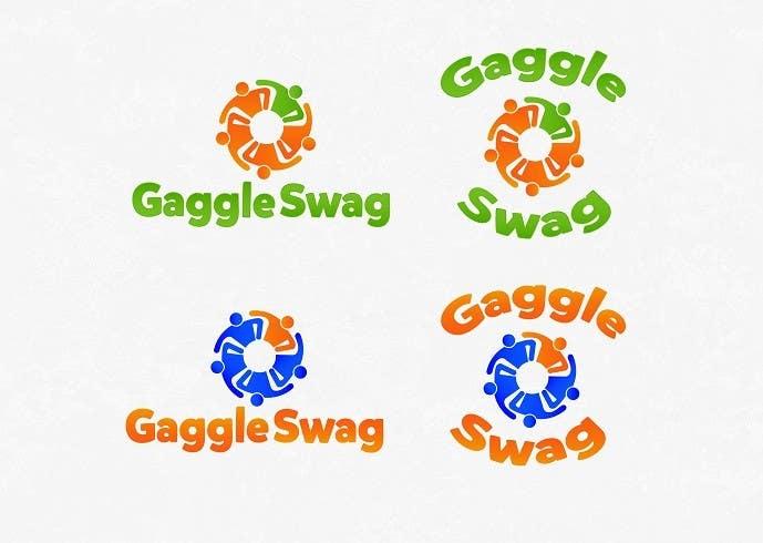Kilpailutyö #                                        14                                      kilpailussa                                         Logo for GaggleSwag