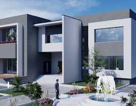 #107 untuk Design exterior elevation for residential villa oleh islamdridi1