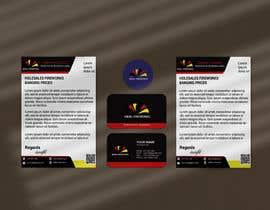#56 untuk Logo | Business Card | Letterhead | 1 x Banner - GRAPHIC DESIGN oleh israfilbsj
