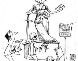 #3 for Justice Delayed is Justice Denied - cartoon / caricature af ecomoglio