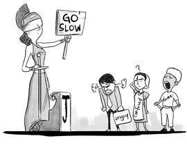 #10 for Justice Delayed is Justice Denied - cartoon / caricature af johnchhana