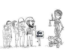 #15 for Justice Delayed is Justice Denied - cartoon / caricature af berragzakariae