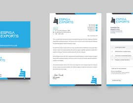 #96 for corporate identity: Logo, Stationary, Business card design by alakram420