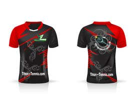 Nro 44 kilpailuun Design an athletic performance shirt for a tennis academy. käyttäjältä reajulislamremon