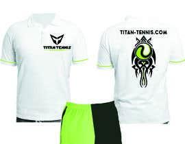 Nro 48 kilpailuun Design an athletic performance shirt for a tennis academy. käyttäjältä Luard0s