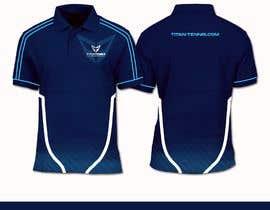 Nro 35 kilpailuun Design an athletic performance shirt for a tennis academy. käyttäjältä heyhams