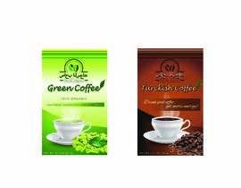 Nro 12 kilpailuun Coffee package design and logo design käyttäjältä cartoonizerr