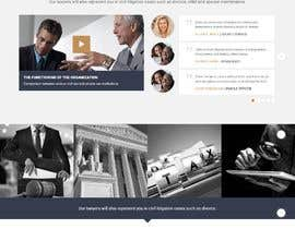 #80 for Build a website for a Law Firm by rafsanAbir