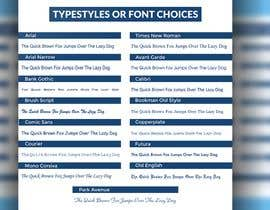 #44 cho Font/Type Style  Choice Graphic/Slide for Website bởi rananabid9