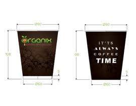 #18 untuk Create Print and Packaging Design for a takeaway coffee cup oleh tiagogoncalves96