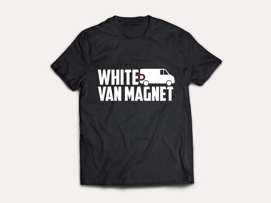 Bài tham dự cuộc thi #                                        15                                      cho                                         Design me a tshirt - White Van Magnet