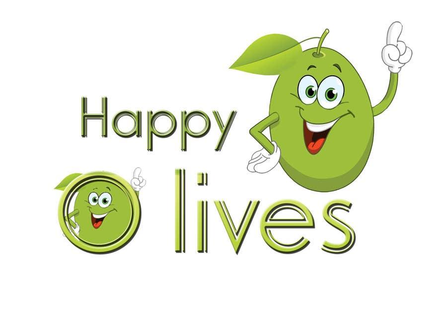 """Intrarea #18 pentru concursul """"Design a Logo for Happy Olives - Construction"""""""