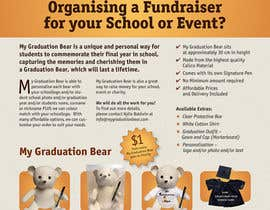 DependableEngine tarafından Create an A4 Brochure design for My Graduation Bear için no 23