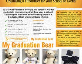 #31 pentru Create an A4 Brochure design for My Graduation Bear de către hackerzhell2