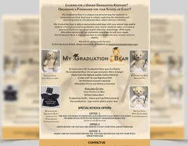 #11 pentru Create an A4 Brochure design for My Graduation Bear de către ghani1