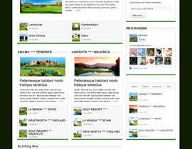 #5 for Wordpress Theme Design for GB Golfer by gerardway