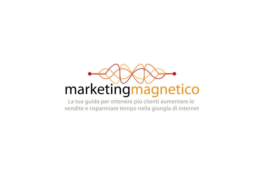 #44 for Logo Design for Marketing Magnetico by branislavad