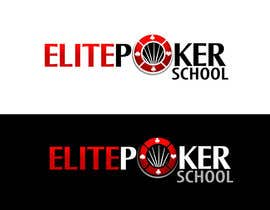 #116 para Logo Design for ELITE POKER SCHOOL de pinky