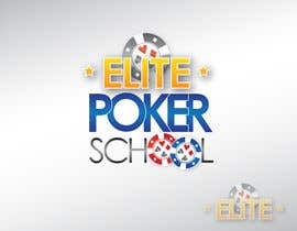 #107 untuk Logo Design for ELITE POKER SCHOOL oleh KandCompany