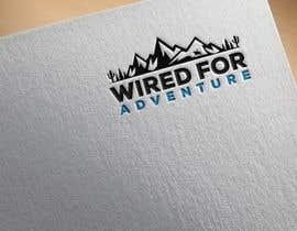 #189 untuk Masthead and logo design for Wired For Adventure oleh shimaakterjoli