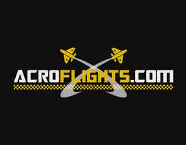 #5 for Logo for Aerobatic Flights Web Site (AcroFlights.com) by brijwanth