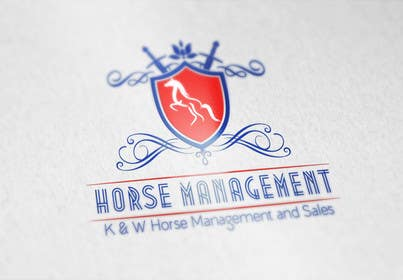 #124 for Design eines Logos for a horse selling company by onkarpurba