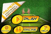 Contest Entry #129 for Graphic Design - Give our Paper Football Game Menus a NEW LOOK!