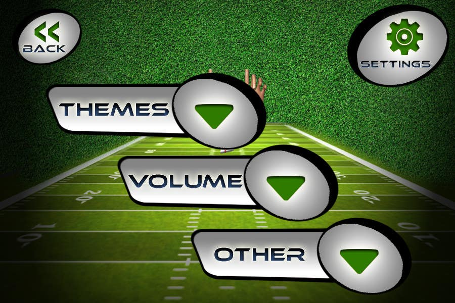 #138 for Graphic Design - Give our Paper Football Game Menus a NEW LOOK! by logodesire