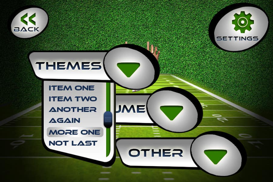 #140 for Graphic Design - Give our Paper Football Game Menus a NEW LOOK! by logodesire